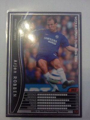 Robben - FC Chelsea - Japan - 2005-2006 Top Zustand - Panini WCCF