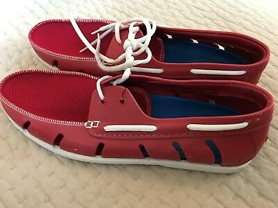 Five Flops Boat Deck Shoes Men's Size 12/13 Red Water Sports