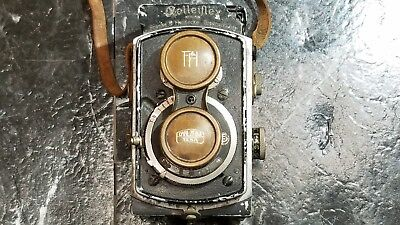 RolleiflexBaby 4x4 1933 Serial # 15122?  Carl Zeiss Lens and Cover - FREE SHIP