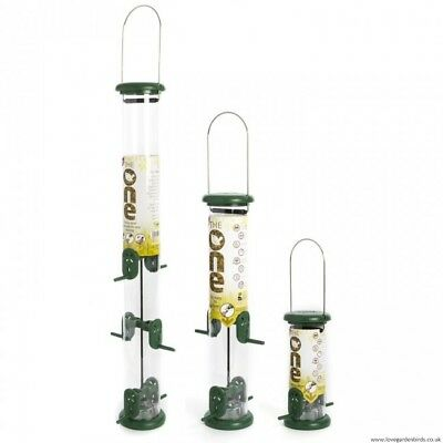 Ring Pull Niger Feeders for Wild Birds Small, Medium, Large, 2 Year Warranty