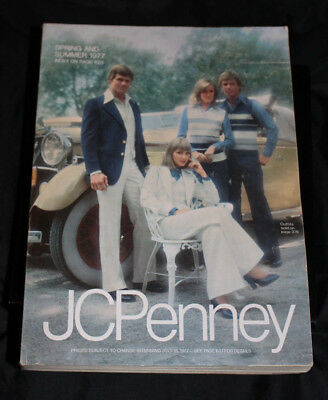 JCPenney 1977 Spring & Summer CATALOG 1187 pgs. Fashion Vintage No odor Mint