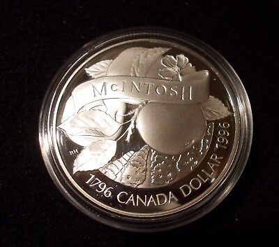 1996 S$1 McIntosh (Proof) Canada Dollar