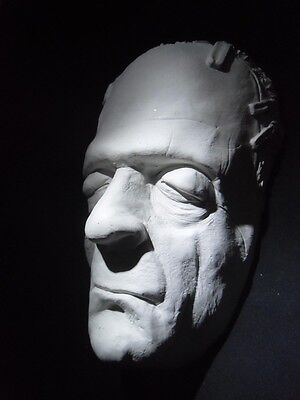 FRANKENSTEIN ( Boris Karloff as the Groom ) DEATH MASK life sized