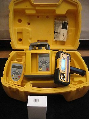 Trimble GL422 Dual Slope Laser Level Remote Apache Detector WORLDWIDE SHIPPING