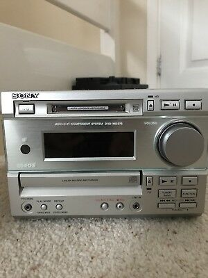 Sony Hi-Fi System HCD-MD373 MiniDisc CD Tuner Amplifier