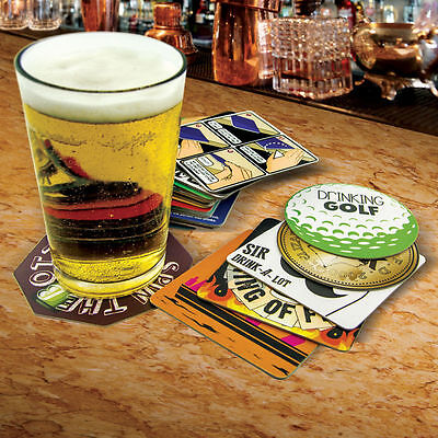Party Drinking Game Beer Mats Student Stag Hen Party Christmas Stocking Filler