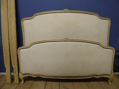 LOVELY VINTAGE DOUBLE FRENCH BED - v58