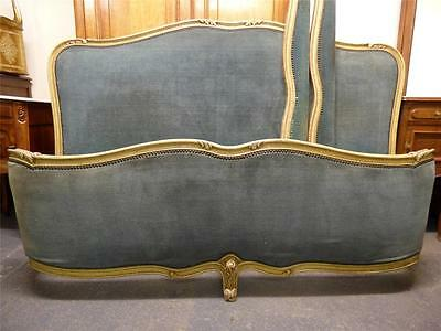 Rare Vintage French Large King Size Bed - Great Frame - Dc26