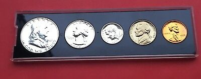 1962 proof set of United States coins.