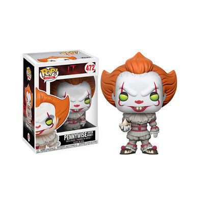 Funko Pop! Movies It Pennywise With Boat Vinyl Figure Damaged Box