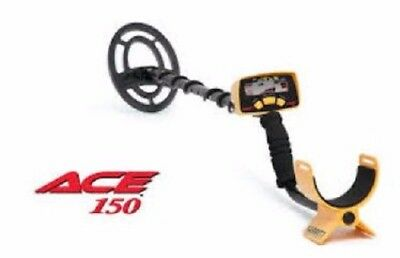 METAL DETECTOR GARRETT ACE 150 Boxed Mint used once!! Accessories untouched.