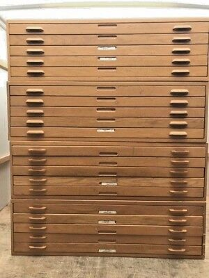 Large vintage hamilton file blueprint oak wood cabinet 5 drawers 53 large vintage hamilton file blueprint oak wood cabinet 5 drawers 53 12x40 malvernweather