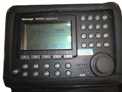 Tektronix RFM151, SignalScout, cable tv, RF analyzer