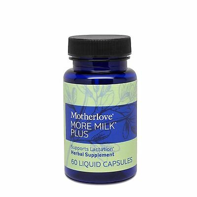Motherlove More Milk Plus Herbal Breastfeeding Supplement Supports Lactation