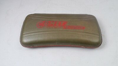 Vintage Hohner Comet Gold Harmonica with Gold/Red Original Box