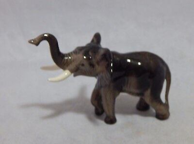 Hagen Renaker Mama Elephant with Trunk Up