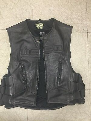 ICON Regulator Leather Vest