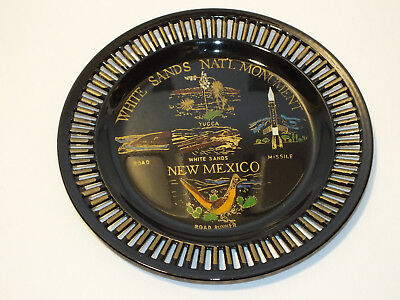 White Sands National Monument Souvenir Decorative Plate Vacation New Mexico