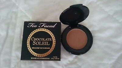 Too Faced Mini Chocolate Soleil Medium/Deep Matte Bronzer 2.5 g