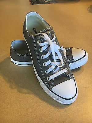 1e2939948ec5 Authentic Converse All Star Chuck Taylor W8 M6 - Charcoal - EUC - MUST SEE