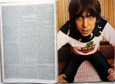 PETER GABRIEL => 4 pages 1977 FRENCH CLIPPING / FREE SHIPPING!!!