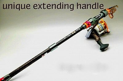 Telescopic Fishing Rod Telescopic Rod Portable Light Strong Extending Handle