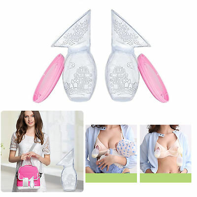 2Pc Haakaa Silicone Breast Pump Stopper BPA Free Breastfeeding Manual Breastmilk