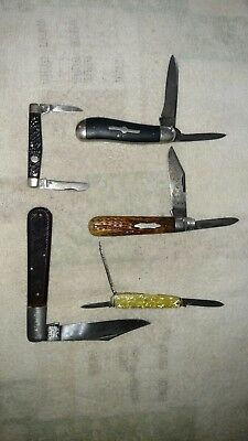 Vintage pocket knife knife lot. Boker,Sabre,Kabar,Russel