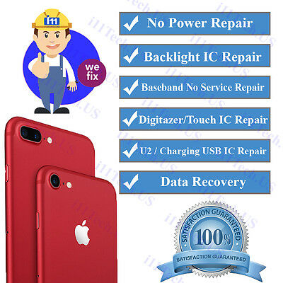 iPhone 7 7+ Backlight Repair Service Turn Around Time 1-3 Business Days