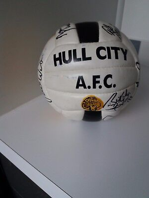Hull City Signed Football, circa 1998, Excellent condition