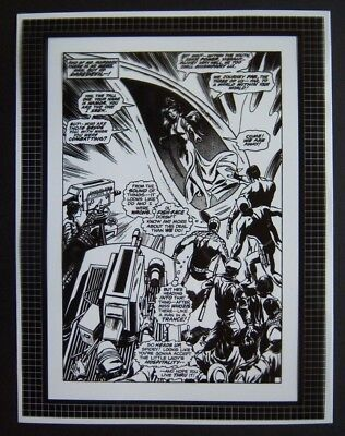 Original Production Art DAREDEVIL #77, page #19, GENE COLAN art