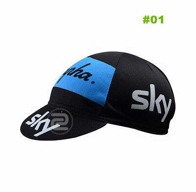 A+ New Style Bike Cycling Cap Sport Hat Bicycle Visor Hat Riding Road Headbands