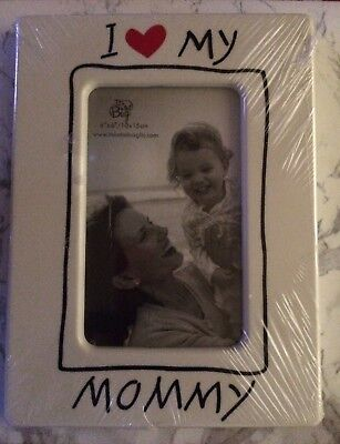 "NEW I Love My Mommy Photo Frame 4"" x 6"" Plastic SEALED SHIPS FREE"