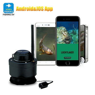 LUCKY 80M Wireless Fishing Camera New for Android IOS Fish Finders Profession