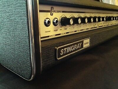 Carlsbro Stingray Super Guitar Amp with Cover, Very Good Working Condition