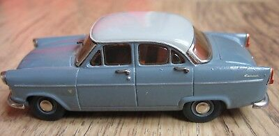 FORD CONSUL Mk.2 MODEL, MADE FROM A MODEL ROAD REPLICAS WHITE METAL KIT, GREY
