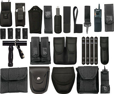 Duty Belt Pouches & Rigs for Uniform Police Officer EMT EMS Security