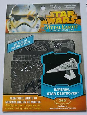 Maquette métal 3D - Metal Earth -  Star Wars - Imperial Star destroyer - Neuf