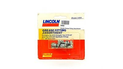 A12 6 Popular Sizes NEW Lincoln 5470 Qty 24 Grease Fitting Assortment
