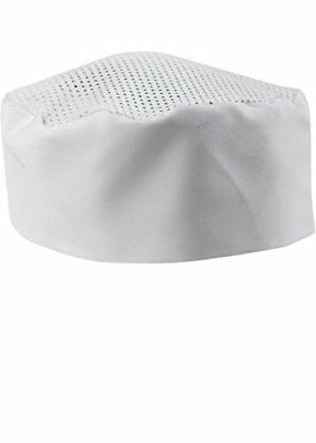 White Chef Hat - Adjustable. One Size Fit Most