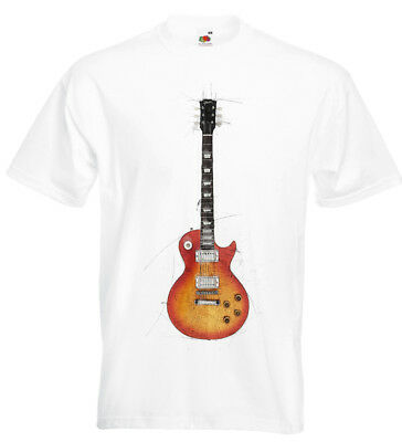 Gibson Les Paul Sunburst T Shirt Jimmy Page Slash Paul Kossoff Peter Green