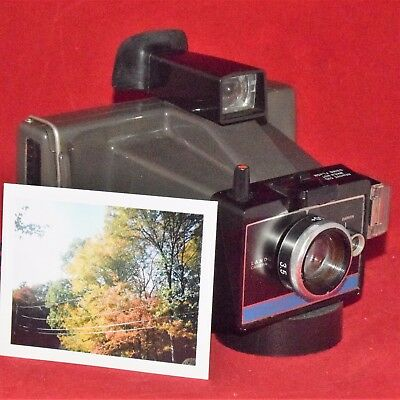 PHOTO TESTED Polaroid ColorPack II Instant Film Camera Uses Fuji FP-100c Vintage