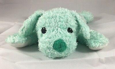 Ty Cuddlepup Mint Green Rattle Puppy Dog Cuddle Toy Baby Pup Lovey Plush Soft
