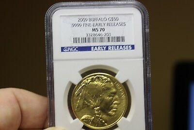 2009 Buffalo G$50 Early Releases MS70  NGC (3522)