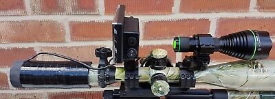 night vision add-on kit one wire plug and go + built in battery + T50 ir torch