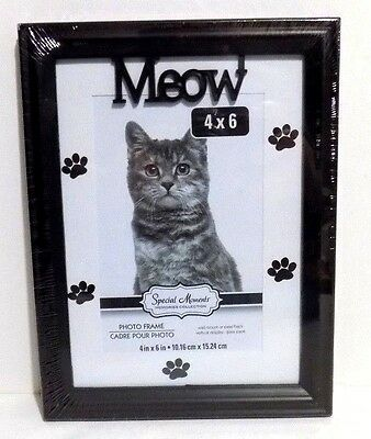 "MEOW  Picture Frame 4"" x 6"" ( NEW )"
