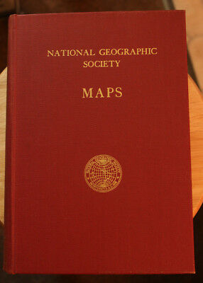 National Geographic Society Maps Folder with 10 Maps