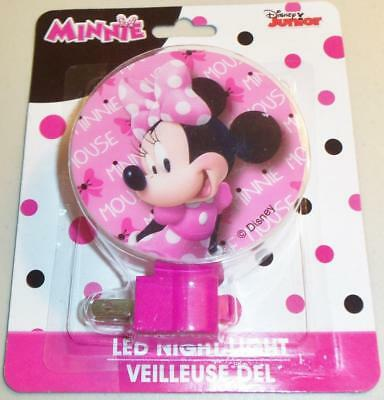 DISNEY MINNIE MOUSE LED  Night Light with Bulb Included! NEW