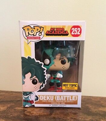 Funko Pop Deku (Battle) Hot Topic Exclusive My Hero Academia Sold Out! Brand New