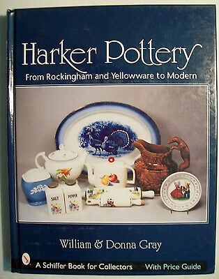 HARKER ART DECO POTTERY $$$ id PRICE VALUE GUIDE COLLECTOR'S BOOK